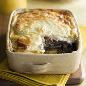 Lamb and potato bake
