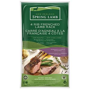 4 Rib Frenched Lamb Rack
